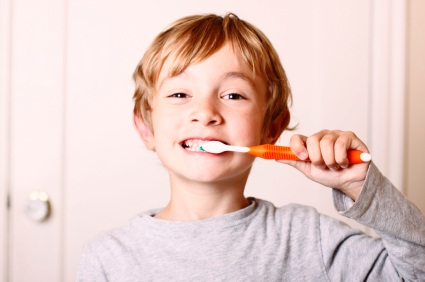 Happy child patient of Pollard Family Dentistry in Portland, OR